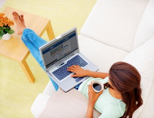 Работа на ПК для девушек в интернете