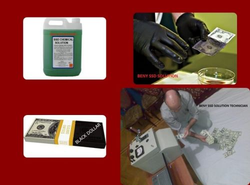 BLACK MONEY CLEANING SSD SOLUTION