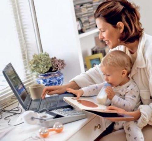 Работа для  домохозяек, мам в декрете онлайн