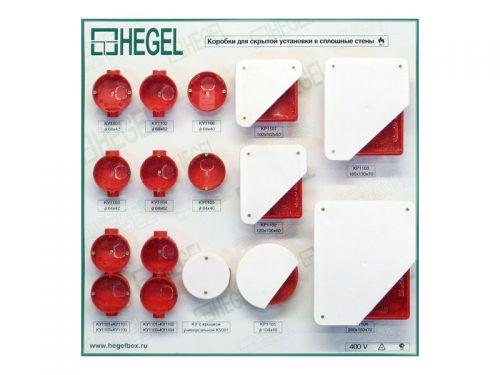 Коробки разветвительные для сплошных стен КР-1101, 1102, 1103, 1104, 1105, У192, У195.