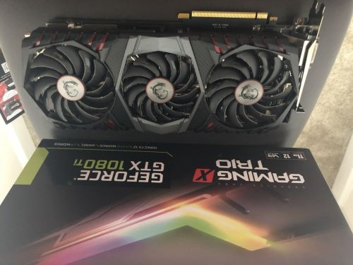 Asus GEFORCE GTX 1080 TI STRIX OC Edition 11GB DDR5x 1080TI